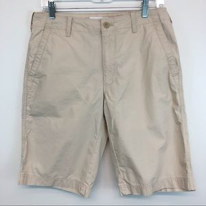 Men's Calvin Klein Khaki Shorts size 30 100%cotton